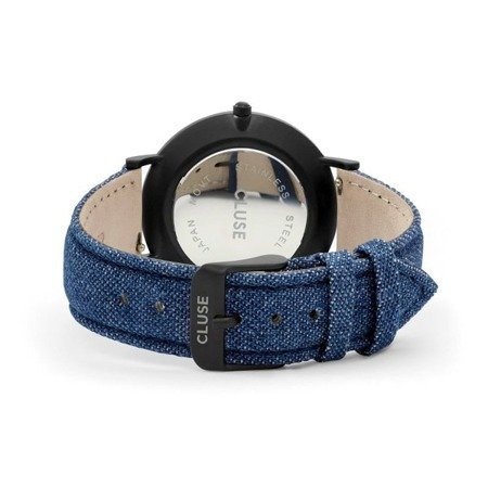 Cluse La Boheme Full Black/Blue Denim CL18507