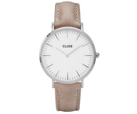 Cluse La Bohème Silver White/Hazelnut CL18234