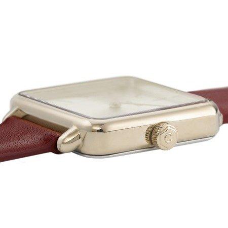 Cluse La Garconne Gold Scarlet Red CL60009