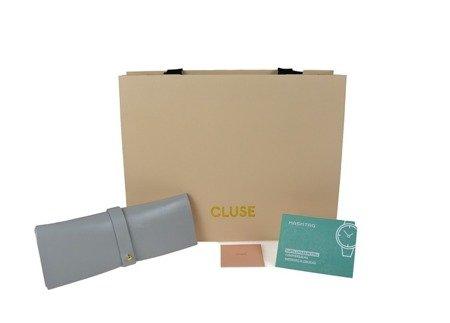 Zegarek damski Cluse La Roche Mesh Rose Gold/White Marble CL40007