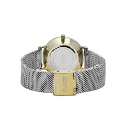 Zegarek damski Cluse Minuit Mesh Gold/Silver CL30024