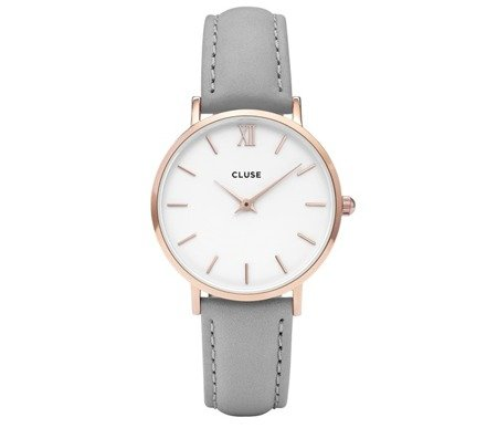 Cluse Minuit Rose Gold White CL30056