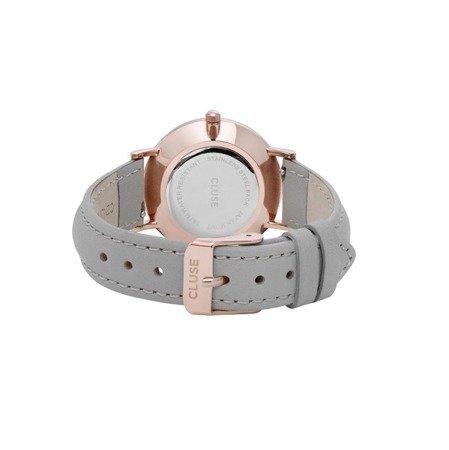 Zegarek damski Cluse Minuit Rose Gold White/Grey CL30002