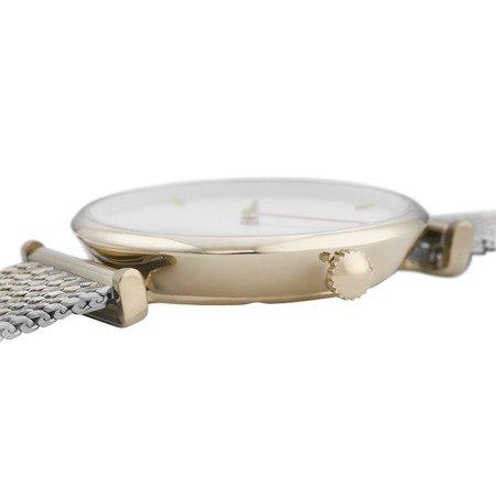 Zegarek damski Cluse Triomphe Gold White Silver Gold CL61002