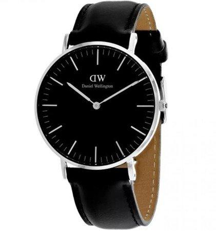 Zegarek męski Daniel Wellington DW00100133 Black Sheffield 40mm